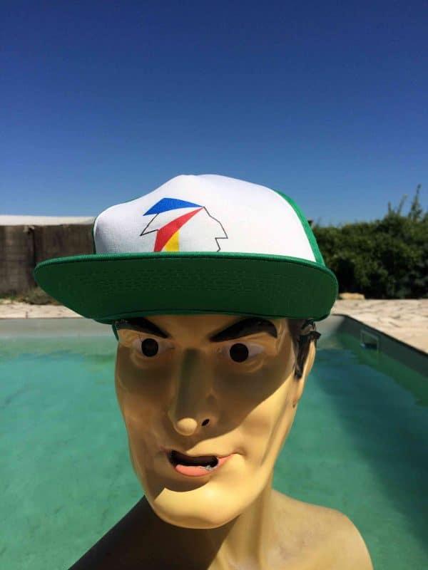Casquette AMCAP, véritable vintage années 90, Indians Street Cap Gorra Hat Snapback Football