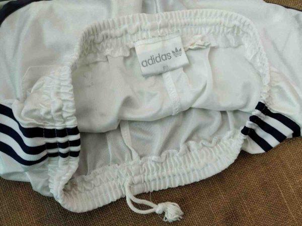 Adidas shorts vintage 3 rotated - ADIDAS Shorts Vintage Année 80 Trefoil Nylon