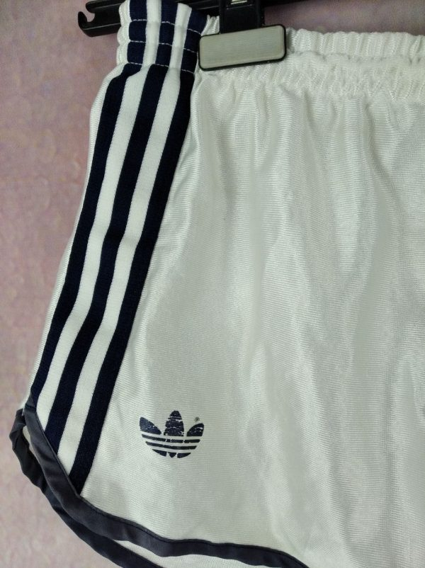 Adidas shorts vintage 5 - ADIDAS Shorts Vintage Année 80 Trefoil Nylon