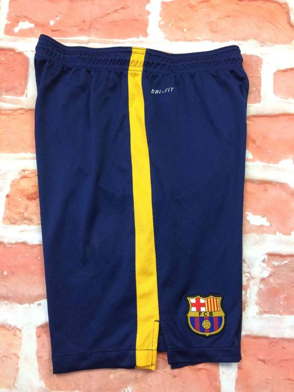 BARCELONA FC Shorts Home Nike Dri Fit Double Gabba Vintage 3 - BARCELONA FC Shorts Home Nike Dri Fit Doublé
