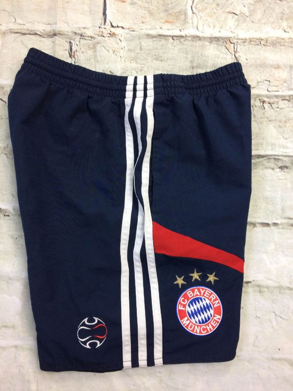 BAYERN MUNICH Shorts Adidas 2006 2007 Foot Gabba Vintage 4 rotated - BAYERN MUNICH Shorts Adidas 2006 2007 Foot