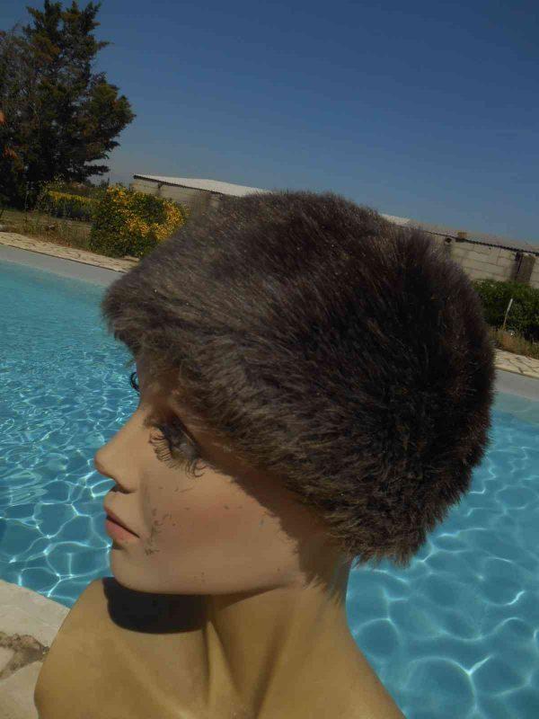 CHAPKA Femme Vintage 70s Fausse Fourrure Gabba Vintage 7 - CHAPKA Femme Vintage 70s Fausse Fourrure