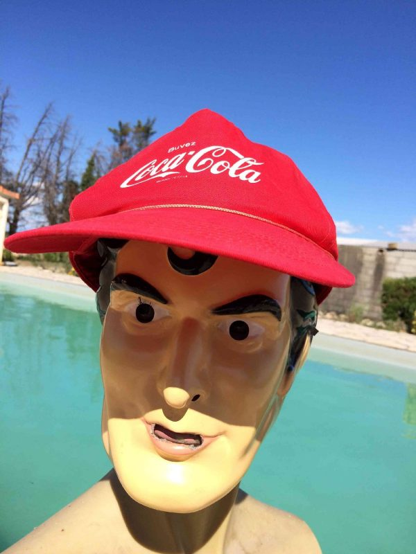 COCA COLA Casquette Vintage 90 Tour de France Gabba.. 2 - COCA COLA Casquette Vintage 90 Tour de France