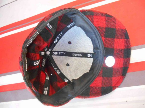 Casquette NY New Era 59 Fifty Plaid Laine Gabba Vintage 1 - Casquette NY New Era 59 Fifty Plaid Laine
