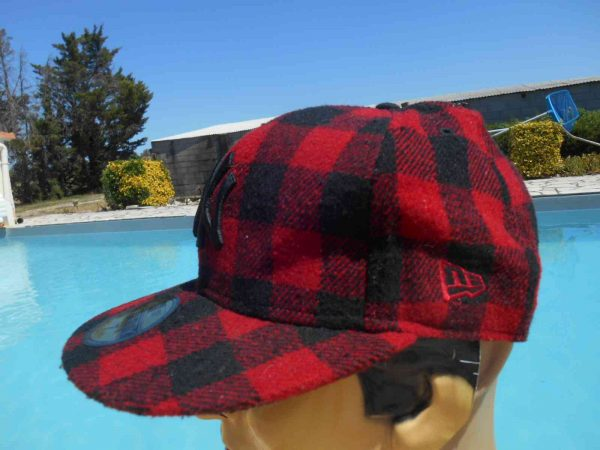 Casquette NY New Era 59 Fifty Plaid Laine Gabba Vintage 4 - Casquette NY New Era 59 Fifty Plaid Laine