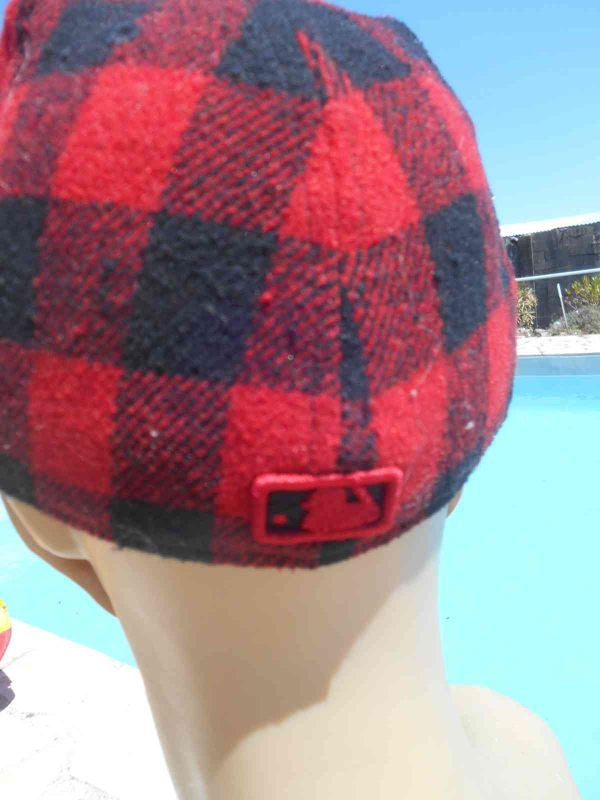 Casquette NY New Era 59 Fifty Plaid Laine Gabba Vintage 5 - Casquette NY New Era 59 Fifty Plaid Laine