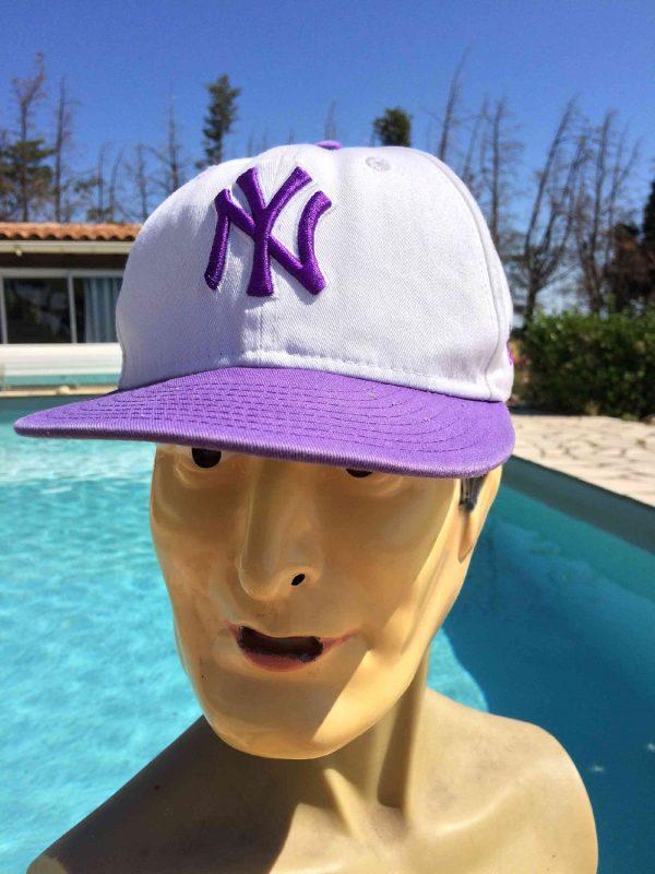 Casquette NY Yankees, marque New Era 59 Fifty, Genuine Merchandise, New York Cap Gorra Hat MLB Baseball