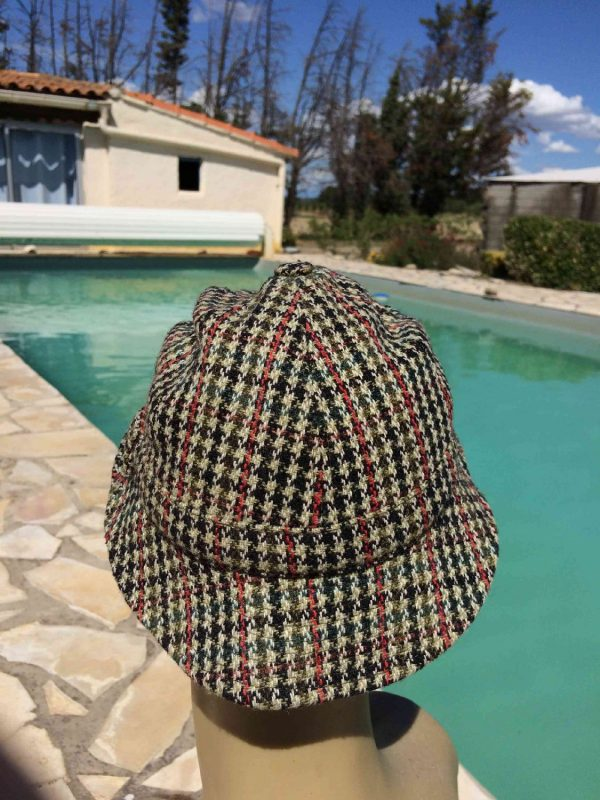 DUNN AND CO Chapeau Vintage 60s Tweed Laine Gabba Vintage 4 - DUNN AND CO Chapeau Vintage 60s Tweed Laine