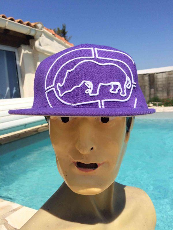Casquette de marque ECKO UNLTD, édition Defined by Design, contient 11% laine Cap Gorra Hat Snapback Rhino
