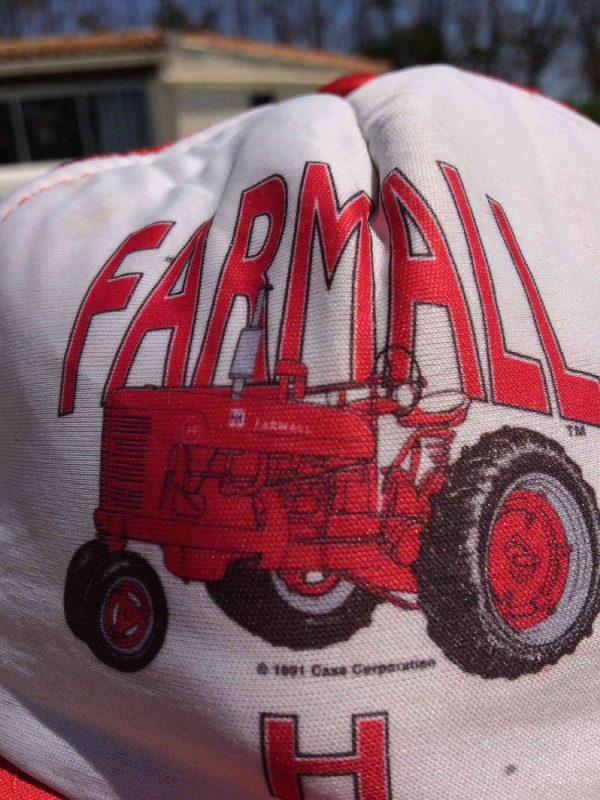 FARMALL H Casquette Case Corp. 1991 Vintage Gabba Vintage 4 - FARMALL H Casquette Case Corp. 1991 Vintage