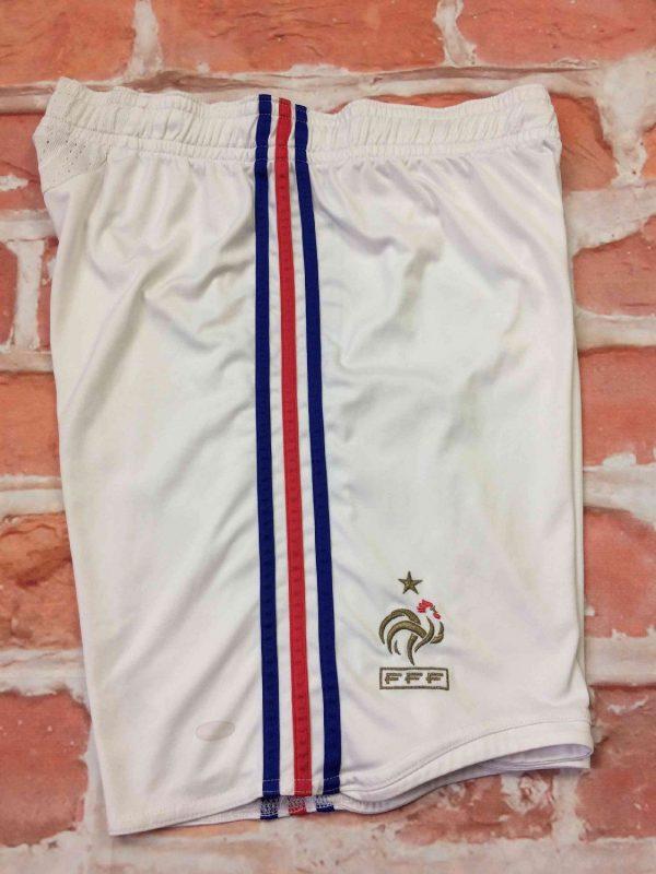 FRANCE Shorts Adidas Euro Cup 2008 Home FFF Gabba Vintag 6 - FRANCE Shorts Adidas Euro Cup 2008 Home FFF