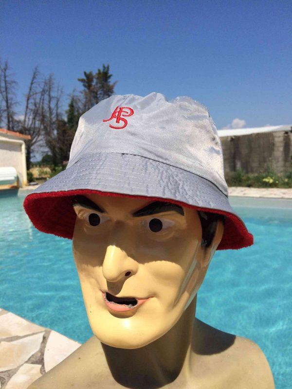 Bob JPS, Véritable vintage années 90s, Reversible, Un côté étanche, un côté laine polaire, Publicité Cigarettes Sun Hat Floppy Cap Gorra