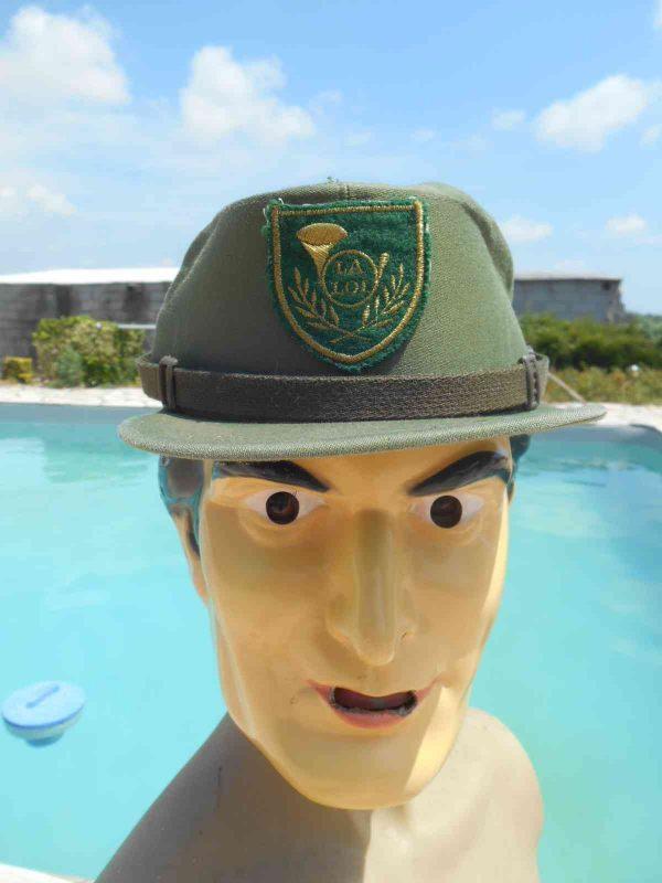 Casquette LA LOI Garde Champêtre Police Rurale, véritable vintage années 70, de marque Valle, Made in Spain, Cap Gorra Hat France