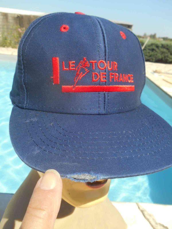 LE TOUR DE FRANCE Casquette Vintage Annees 90 Gabba.. 2 - LE TOUR DE FRANCE Casquette Vintage Années 90