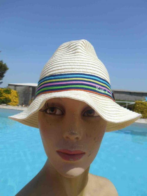 LITTLE MARCEL Chapeau Femme Eté Glamour - Gabba Vintage