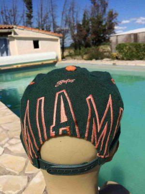 MIAMI HURRICANES Casquette Vintage Signature Gabba Vintage 5 - Home