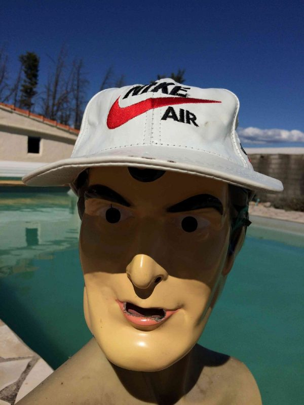 NIKE AIR Casquette Vintage Cuir Just Do It Gabba Vintage 2 - NIKE AIR Casquette Vintage Cuir Just Do It