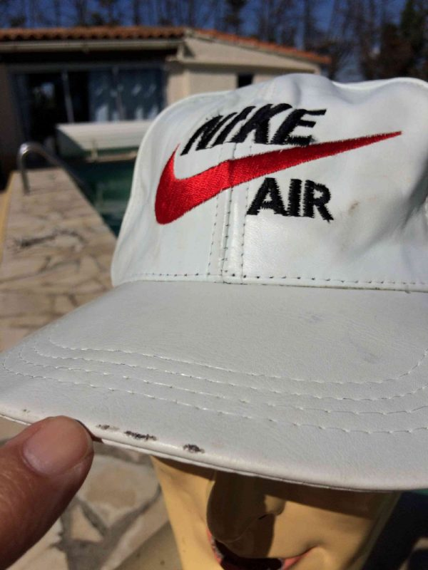 NIKE AIR Casquette Vintage Cuir Just Do It Gabba Vintage 7 - NIKE AIR Casquette Vintage Cuir Just Do It