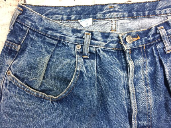 OBER Shorts Vintage 90s Made In France Patchs 14 rotated - OBER Shorts Vintage 90s Made In France Patchs