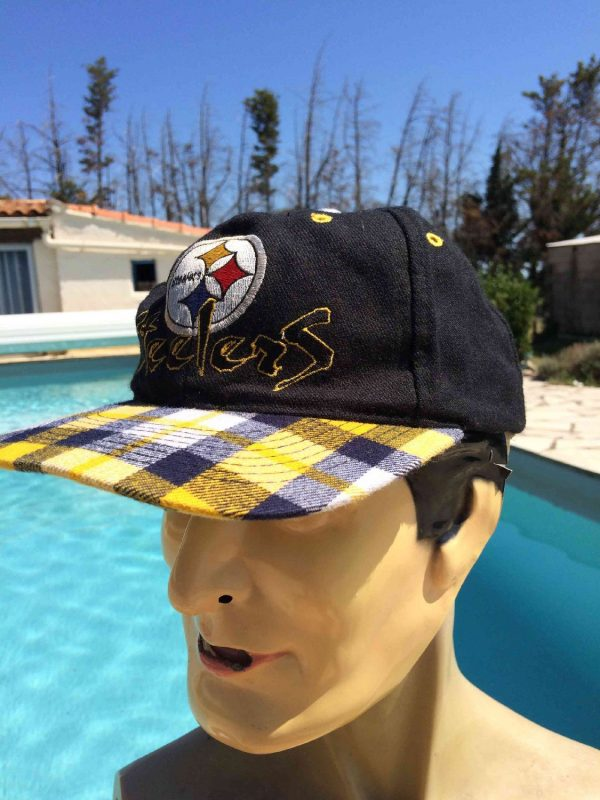 PITTSBURGH STEELERS Casquette Team NFL Laine Gabba Vintage 3 - PITTSBURGH STEELERS Casquette Team NFL Laine