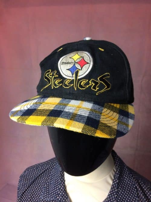 PITTSBURGH STEELERS Casquette Team NFL Vintage Années 90...