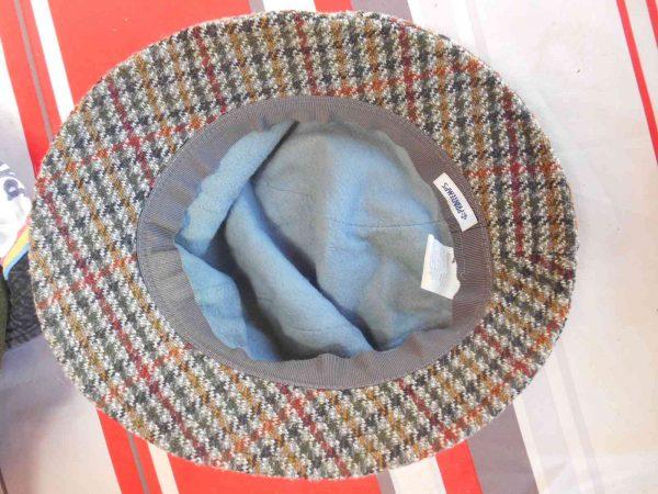PRINTEMPS Chapeau Vintage 70s Tweed Laine Gabba Vintage 1 - PRINTEMPS Chapeau Vintage 70s Tweed Laine