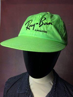 RAY BAN Sunglasses Casquette Vintage Années 80s Universal