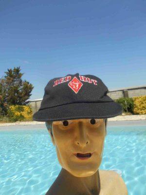 Casquette RED HOT Run Wild, véritable vintage années 90, Snapback Top Cap Gorra HatCowboy Logo Cigarettes