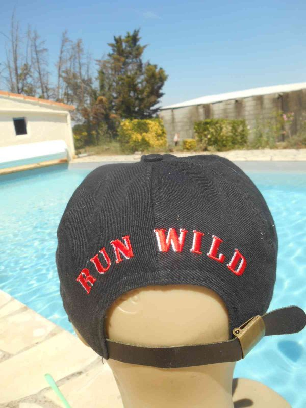 RED HOT Casquette Run Wild Vintage 90s Cowboy Gabba.. 4 - RED HOT Casquette Run Wild Vintage 90s Cowboy
