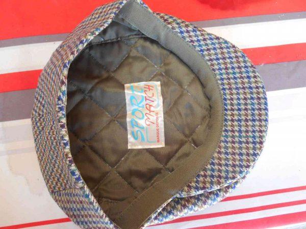 SPORT MATCH Casquette Vintage Annees 60 Laine Gabba.. 1 - SPORT MATCH Casquette Vintage Années 60 Laine