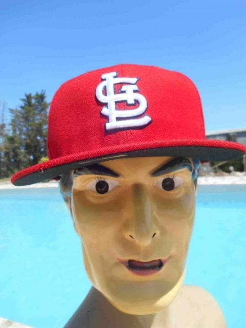 Casquette ST LOUIS CARDINALS, marque New Era 59 Fifty, édition Authentic Collection, Baseball MLB Cap Gorra Hat STL