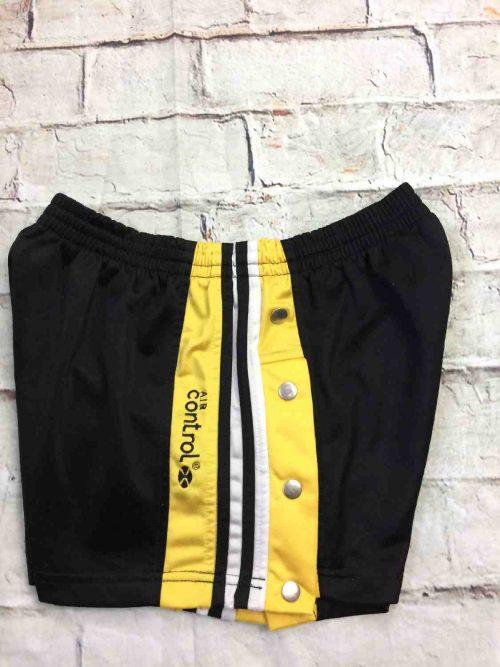 Shorts AIR CONTROL à pressions latérales, véritable vintage années 90s, élastique de serrage, sports basketball streetwear rave