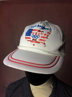TEAM AMERICA Casquette Vintage 1988 JO USA Olympics
