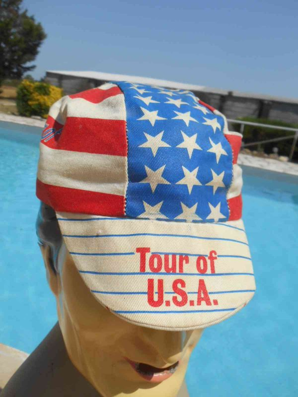 TOUR OF USA Casquette Vintage 80s Made in USA Gabba.. 3 - TOUR OF USA Casquette Vintage 80s Made in USA