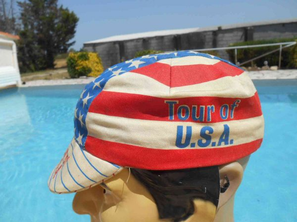 TOUR OF USA Casquette Vintage 80s Made in USA Gabba.. 4 1 - TOUR OF USA Casquette Vintage 80s Made in USA
