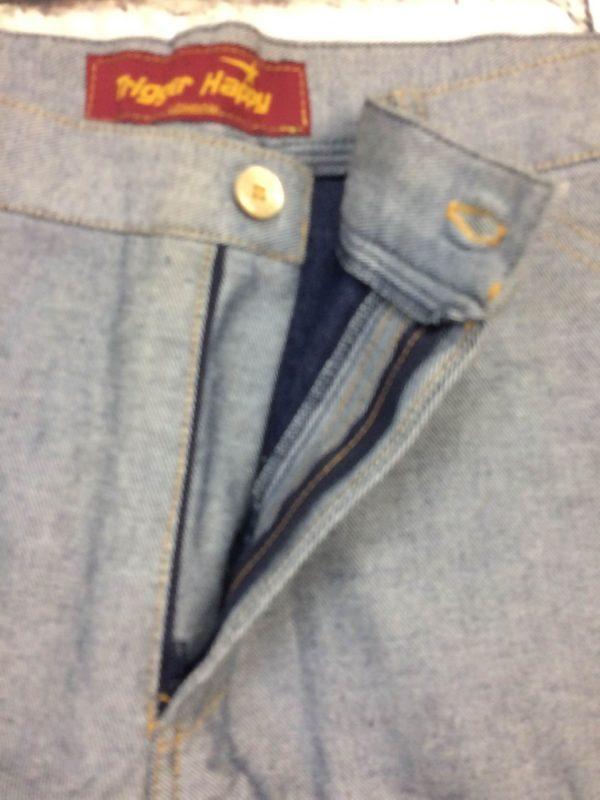 TRIGGER HAPPY London Bermuda Jeans Retourne 3 rotated - TRIGGER HAPPY London Bermuda Jeans Retourné