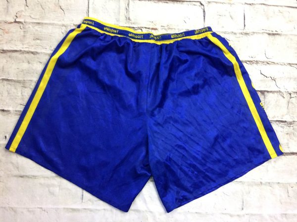 UHLSPORT Shorts Vintage Annees 90s Passion 1 rotated - UHLSPORT Shorts Vintage Années 90s Passion