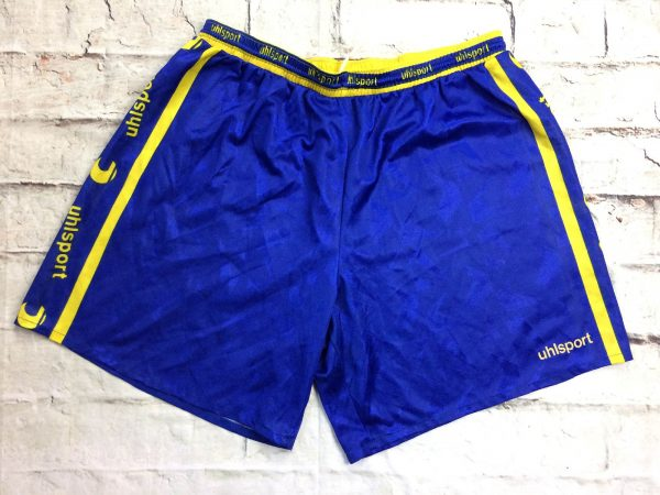 UHLSPORT Shorts Vintage Annees 90s Passion 2 rotated - UHLSPORT Shorts Vintage Années 90s Passion