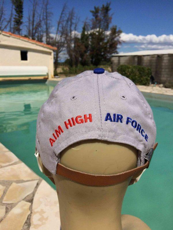 US AIR FORCE Casquette Vintage Aim High Armee Gabba.. 6 - US AIR FORCE Casquette Vintage Aim High Armée