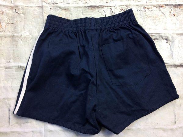 VINTAGE 80s Shorts Made in Hong Kong Navy Gabba Vintage 4 rotated - VINTAGE80sShortsMade in Hong Kong Navy 12