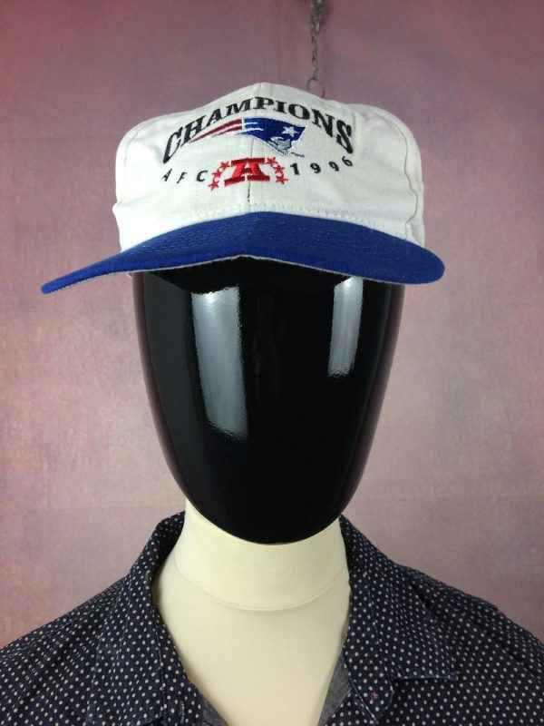 new england patriots casquette champions 1996 2 - NEW ENGLAND PATRIOTS Casquette Champions 1996