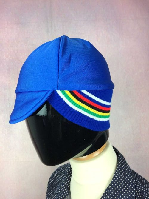 Casquette hiver, véritable vintage années 80s, Doublé, Eroica CyclismeCap Gorra Ha Old School