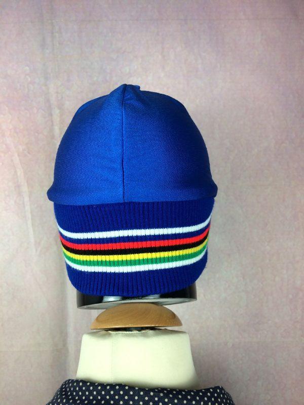 Casquette Hiver Vintage Annees 80s Cyclisme Gabba Vintage 4 - Casquette Hiver Vintage Années 80s Cyclisme