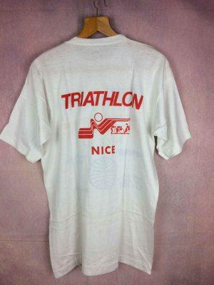 Championnat Monde TRIATHLON NICE 87 T Shirt Vintage .. 5 - Home