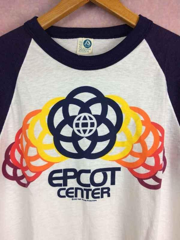 EPCOT CENTER T Shirt Walt Disney Vintage 1982 Gabba.. 3 - EPCOT CENTER T-Shirt Walt Disney Vintage 1982