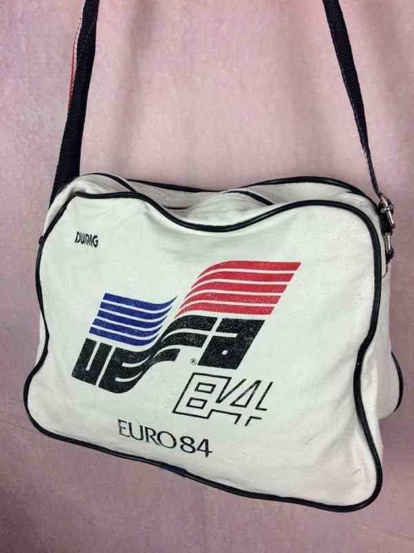EURO 1984 Sac Bandouliere Vintage 80s Duarig Gabba Vintage 3 - EURO 1984 Sac Bandoulière Vintage 80s Duarig