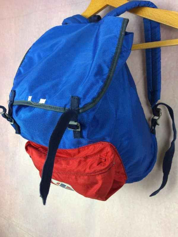 LAFUMA Sac A Dos Vintage 80s Made in France Gabba Vintage 3 - LAFUMA Sac A Dos Vintage 80s Made in France