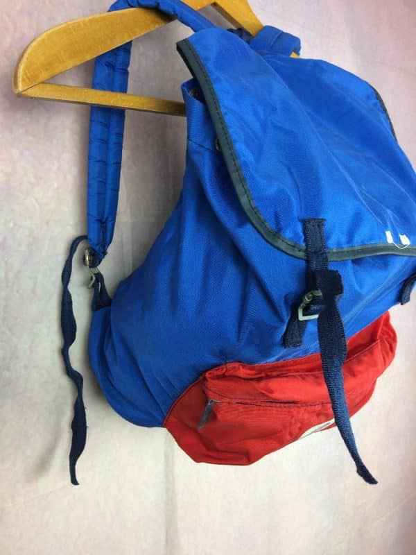 LAFUMA Sac A Dos Vintage 80s Made in France Gabba Vintage 4 - LAFUMA Sac A Dos Vintage 80s Made in France