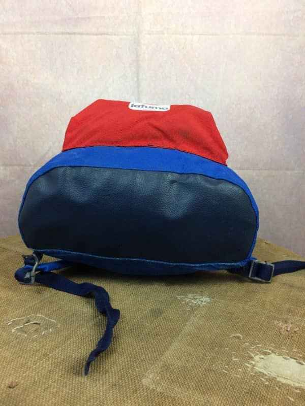 LAFUMA Sac A Dos Vintage 80s Made in France Gabba Vintage 7 - LAFUMA Sac A Dos Vintage 80s Made in France