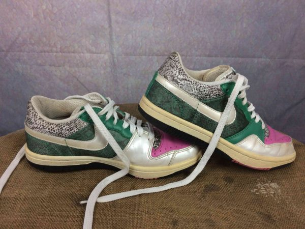NIKE Sneakers Court Force Low 2008 EUR 375 Gabba Vintage 5 - NIKE Sneakers Court Force Low 2008 EUR: 37,5